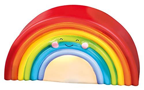 moses Kleines Regenbogen-Licht | Nachtlicht für Kinder mit Timer-Funktion | Stimmungsvolles Dekolicht, bunt