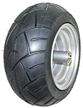 Dixie Chopper Original Complete Front Wheel With 15x6.00-8 Motorcycle Tire 400439
