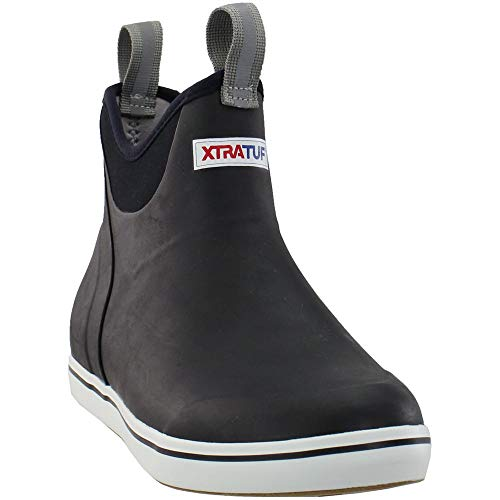Xtratuf Men's 6 in Ankle Deck Boot Black 8