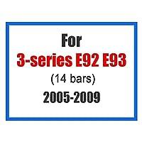 フロントグリル フロントフードグリル フロントグリルトリムストリップ E46 E90 E60 E39 E36 F30 F10 F20 X5 E70 E53 G30 E91 E92 E93 E87 X3 E83 F25 X6 E71 F31 F22 F34 X1 (Color : 2006 2009 E92 E93)