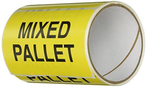 TapeCase SHIPLBL-063-50 - Etichetta'Pallet misto' - 50 per confezione (1 pezzi)