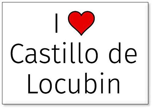 Mundus Souvenirs - Amo Castillo de Locubin, Imán para Nevera (diseño 1)