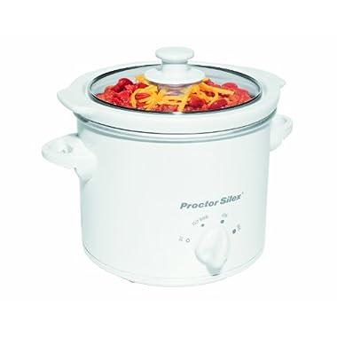 Proctor Silex 33015YA 1-1/2-Quart Round Slow Cooker