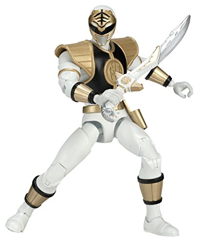 Mighty Morphin Power Rangers 6.5-Inch White Ranger Legacy Figure