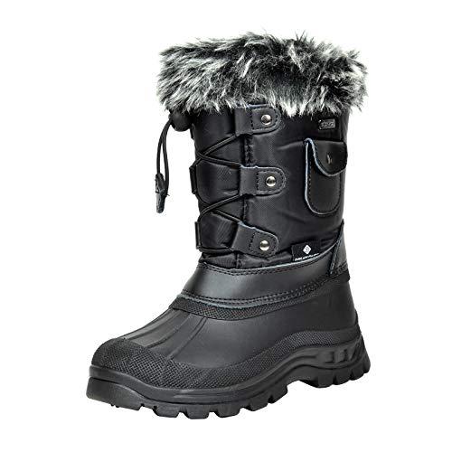 Snow Boots Size 4 Kid