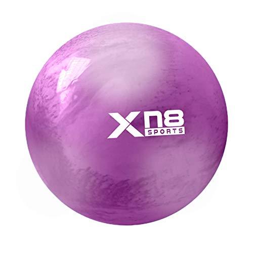 Xn8 Sports Pelota de Yoga para Gimnasia, Maternidad, Embarazo, Nacimiento, antiestallido, Pelota Suiza de 65 cm y 75 cm, para Ejercicio (Arco IR), 75 cm