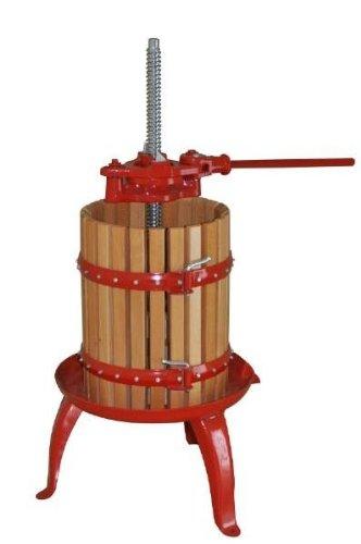 Weinpresse mit Ratsche 6L