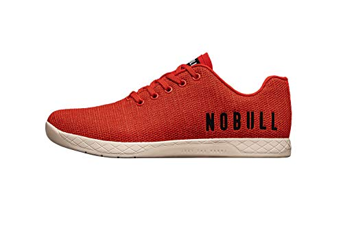 NOBULL Men's Red Heather Trainer 12.5 US