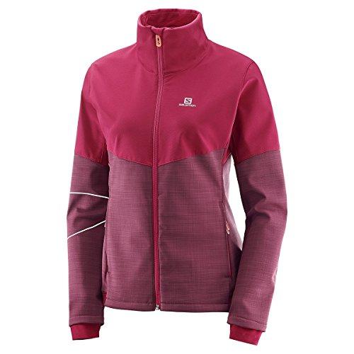 SALOMON Elevate Softshell-Jacke für Damen, Damen, Feige, X-Small