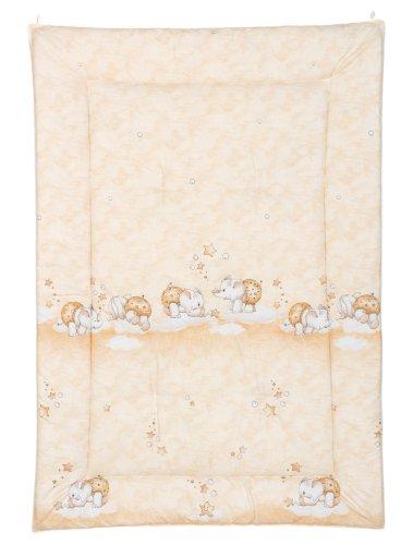 Julius Zöllner 95000 1905 9 Tapis d'éveil avec bordure env. 95/135 – Doudou abricot