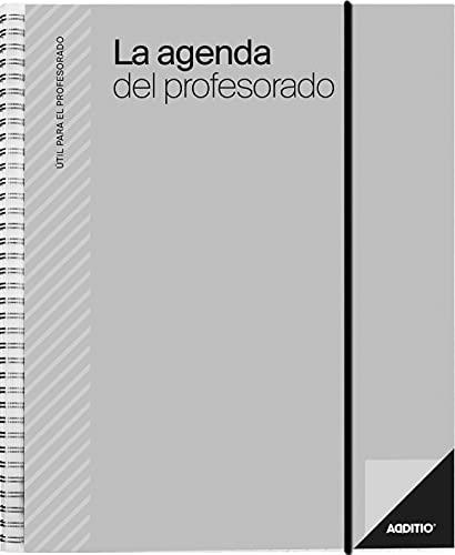 Additio P212 Agenda del profesorado Agenda + Evaluación + Anotaciones Gris