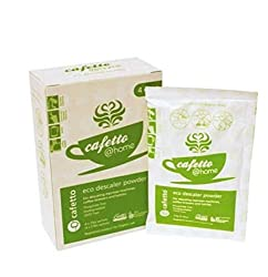 Cafetto at home oranic descaler