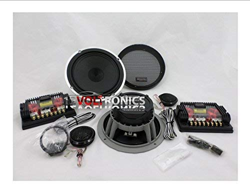 """American Bass Symphony 6.5 Component System 6.5"""" Speakers with 1"""" Tweeter"""
