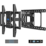 Mounting Dream TV Wall Mounts TV Bracket for Most 42-70 Inch TVs, Premium TV Mount Full Motion TV Wall Mount with Articulating Arms, Max VESA 600x400mm and 100LBS, Fits 16', 18', 24' Studs MD2296-24K
