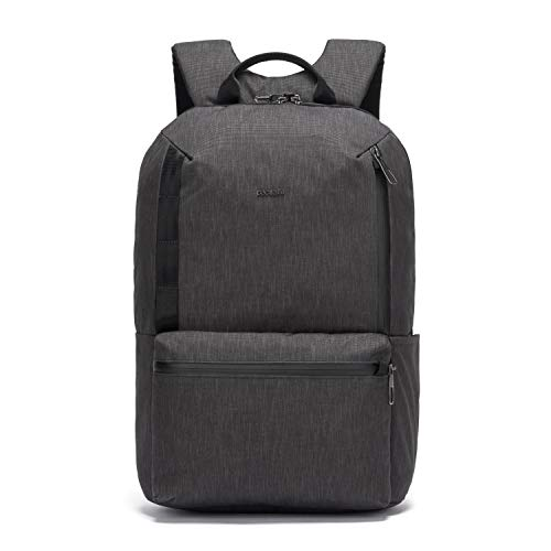 PacSafe Men's Metrosafe X Anti Theft 20L Backpack-with Padded 15' Laptop Sleeve, Carbon