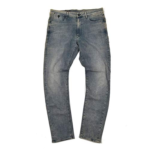 G-STAR RAW herenbroek jeans stretch jeans type C 3D super slim fit blauw paslengte 36