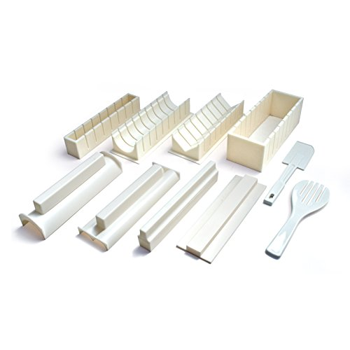 Sushi Making Kit - Easy to Use DIY 10 Piece Sushi Roll Maker by Sushi Master