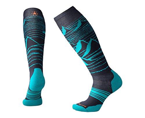 Smartwool PhD slopstyle Light Elite Calcetines hasta la rodilla calcetines deportivos, SW001103-092-M, azul oscuro, M (38-41)