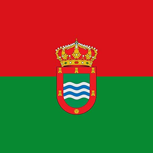magFlags Bandera XL Muncipal de Valle del Retortillo Palencia | 2.16m² | 150x150cm