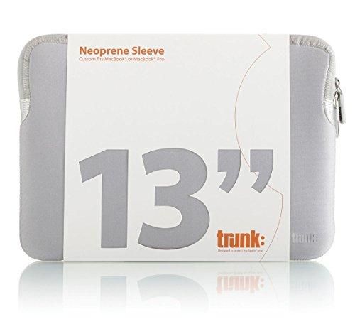 TRUNK TR-ALS13-SIL Hülle für MacBook 13 Zoll Silber