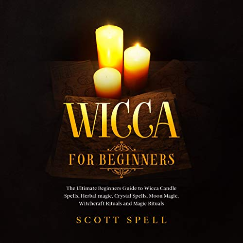 Wicca for Beginners audiobook cover art