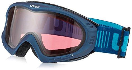 Uvex Erwachsene F2 Skibrille, Navy Mat, One Size