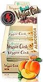 +Watt Veggie Ciok, Barrette Vegane, Barretta Singola Da 40 Gram (Albicocca)