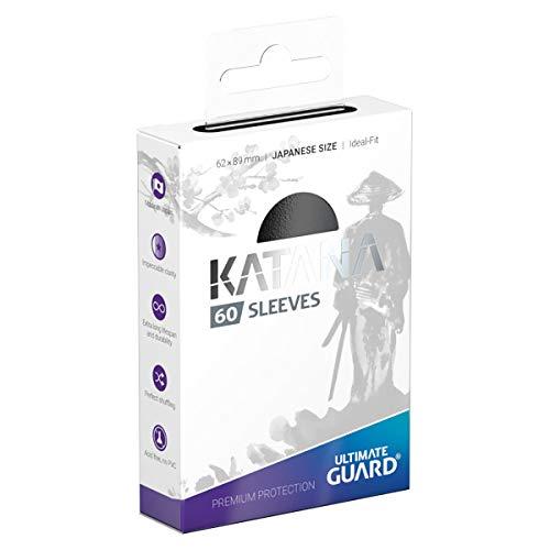 Ultimate Guard(アルティメットガード) Katana スリーブ ジャパニーズサイズ 60枚 カードスリーブ (ブラック)
