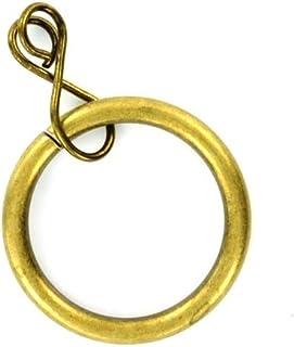 Bronze /à Noir rideaux 30mm illets bagues avec laveurs parfait pour CUIR ARTISANAT rideaux et PVC Bandeaux par Trimming Shop 25 Pcs