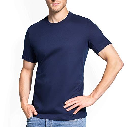 laulas Anti-Schweiss T-Shirt Sommer - mit Zusatzschutz durch wechselbare Saugeinlagen - gegen Achselschweiss - verhindert sofort Ihre Schweissflecken