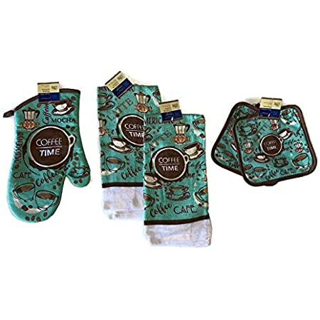 Coffee Time Decorative Hand Towels