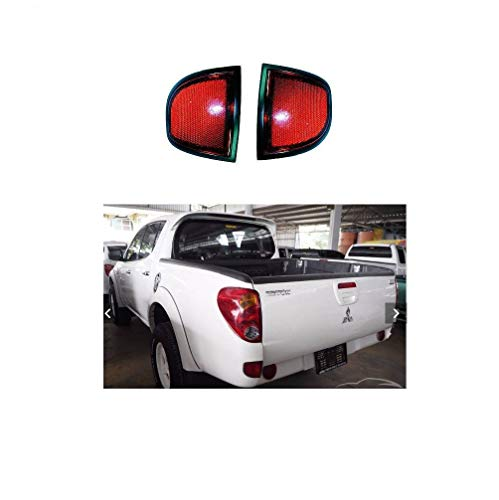 Tail Rear Reflector For Mitsubishi L200 Sportero Triton 2005 2006 2007 2008 2009 2010 2011 2012 2013