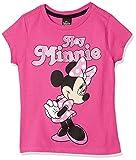 Hockey - Playera para niña Minnie Mouse Color Rosa Estampada 8 años