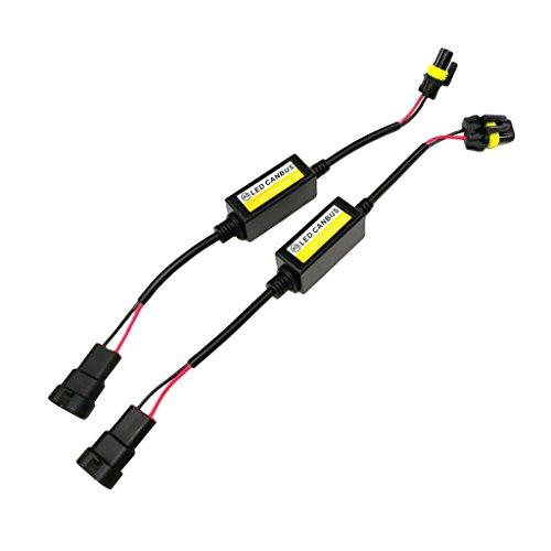 Sharplace 2X Hb4 Hb3 9005 9006 LED Erreur De Phare sans Anti-Scintillement Résistance Annuleur Décodeur