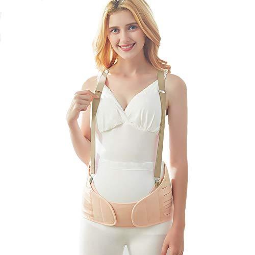 Ceintures de grossesse,Ceinture abdominale, soutien abdominal, tissu antibactérien, post-partum peut être utilisé pour ceinture pelvienne, élastique, respirant, soulager les maux de dos,XL