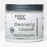 EDEN BodyWorks Coconut Shea Cleansing Cowash | 16 oz | Remove Build Up, Cleanse,...