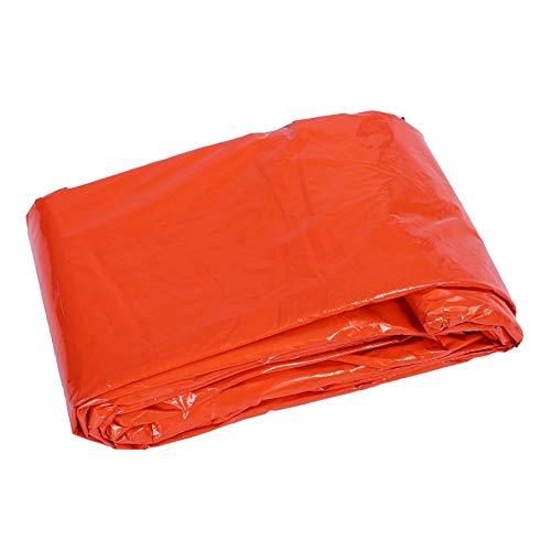 Återanvändbar nödsovsäck för utomhus kallt väder Termisk sovsäck Vattentätt campingkuvert Sovpåse Orange