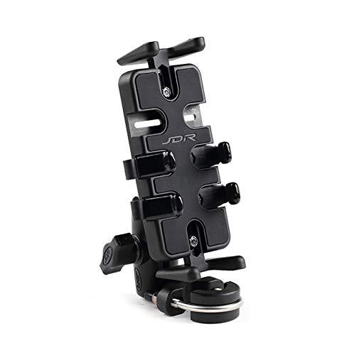 Soporte para teléfono para Bicicleta de aleación de Aluminio, Soporte móvil para Motocicleta con rotación de 360 °, Accesorio para Bicicleta eléctrica para Motocicleta MTB