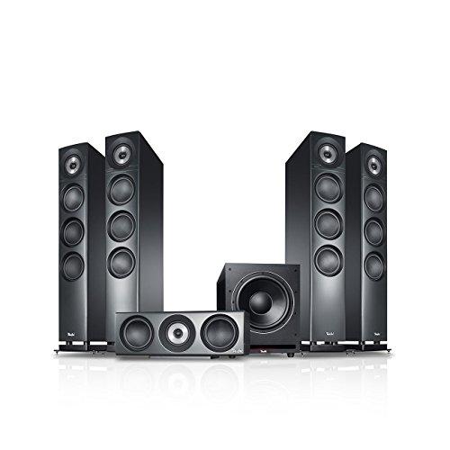 Teufel Definion 3 Surround Power Edition 5.1-Set Anthrazit Heimkino Lautsprecher 5.1 Soundanlage Kino Raumklang Surround Subwoofer Movie High-End