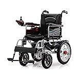 FGVDJ Patinete para Ancianos portátil Plegable para Silla de Ruedas eléctrica con Inodoro para Pacientes hemipléjicos con discapacidad en Las piernas de la Tercera Edad