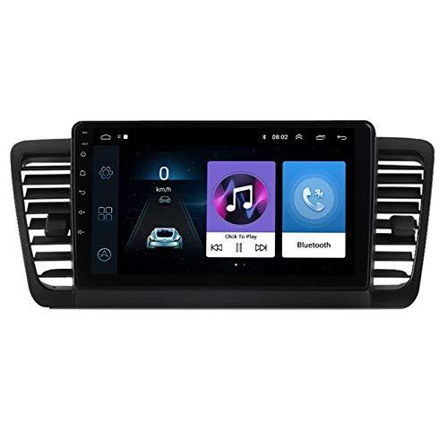Auto Unterhaltung Multimedia Radio Unterstützt Spiegel-Link/AUX/USB/FM/AM/OBD2/DAB+/WiFi, Für Subaru Legacy 2004-2009 Autoradio Player Mit 4 LED Mini Rückfahrkamera,Octa core,4G WiFi 2+32