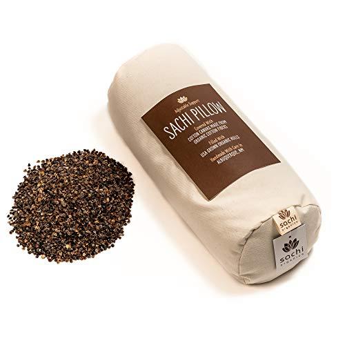 Sachi Organics Buckwheat Cylinder Neck Pillow