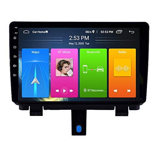 Stereo Navigator, Android Auto Radio Doble DIN Carplay HD Pantalla táctil, Soporte Phone Link Mirroring Bluetooth/Radio/Video y Audio, para Audi Q3 2013-2017