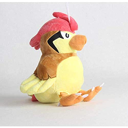 Vbtsqp 22Cm Yusanjia Bibi Bird Pikachu Little Fire Dragon Muñecas mágicas Juguetes para Mascotas Elf Peluches Cumpleaños para niños