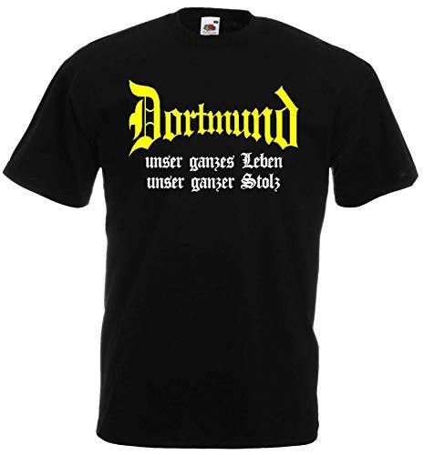 Dortmund Herren T-Shirt unser Leben unser Stolz Ultras