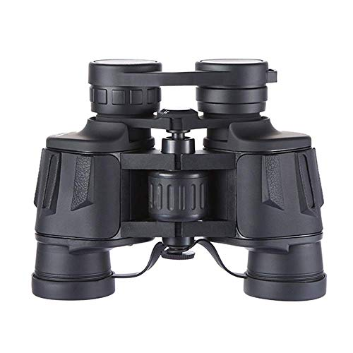 8x40 Verrekijker HD High Vergroting Zwart Grote oculair Wide Angle Coating Portable Compact Telescope 48mm objectief lens buitenshuis ZHANGKANG