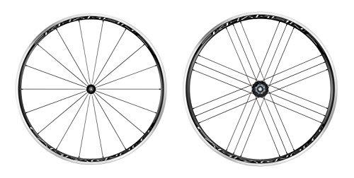 Campagnolo Unisex– Erwachsene Laufradsatz-2651410520 Laufradsatz, schwarz, 28 Zoll