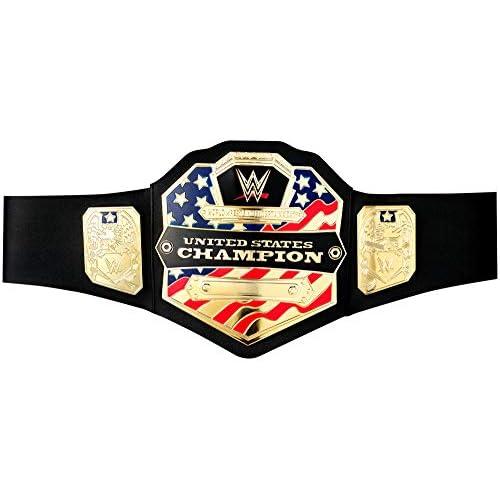 WWE–Cintura da Campione Campionato degli Stati Uniti 45.5 x 21.8 x 1.5 Oro