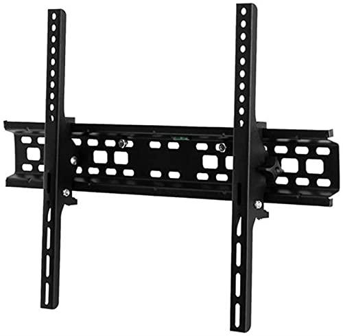 GWDFSU Soporte de Pared para TV inclinable, Resistente y Resistente, Soporte de Pared para TV para televisores de 32-70 Pulgadas con Nivel de Burbuja máximo 600X400mm 50 kg de Capacidad de Peso
