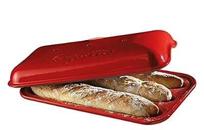 Emile Henry Made In France Flame Baguette Baker